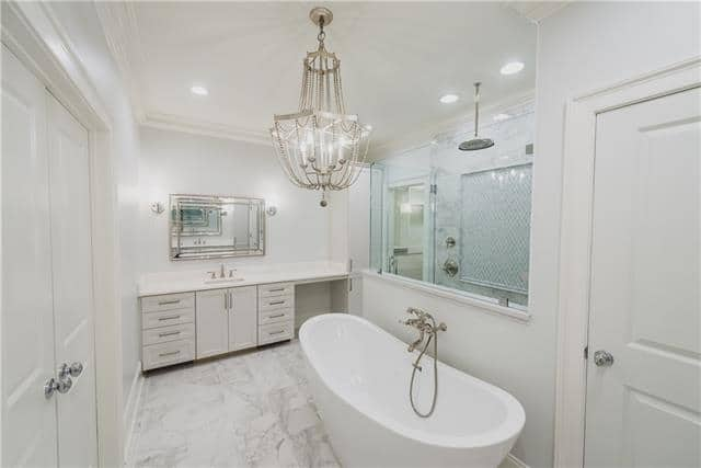 elegant bathroom design, custom bathrooms